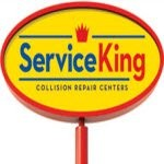 Service King San Pedro San Antonio TX 78232 Logo. Service King San Pedro Auto body and paint. San Antonio TX collision repair, body shop.