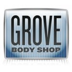 Grove Body Shop Garden Grove CA 92843-1042 Logo. Grove Body Shop Auto body and paint. Garden Grove CA collision repair, body shop.