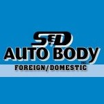 S And D Auto Body Monrovia CA 91016-4831 Logo. S And D Auto Body Auto body and paint. Monrovia CA collision repair, body shop.