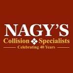 Nagy's Collision Spurgeon Wooster OH 44691 Logo. Nagy's Collision Spurgeon Auto body and paint. Wooster OH collision repair, body shop.