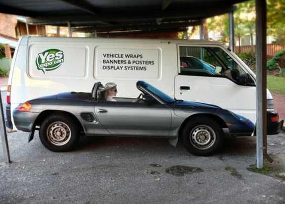 Funny Car Wrap