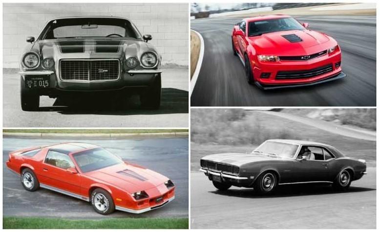 Generations of the Camaro
