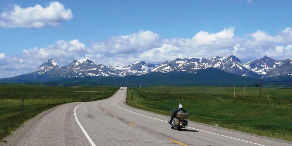Highway 2 in Montana