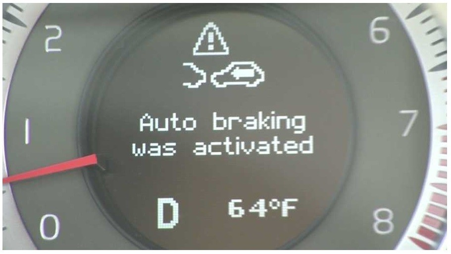 Auto Braking Message