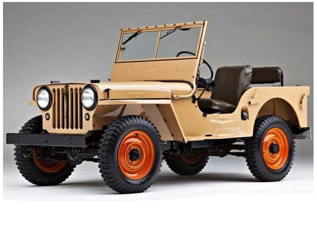 The first civilian jeep