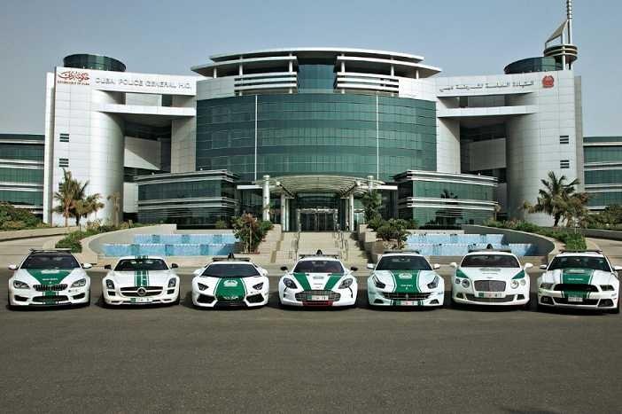 Most impressive Dubai police cars