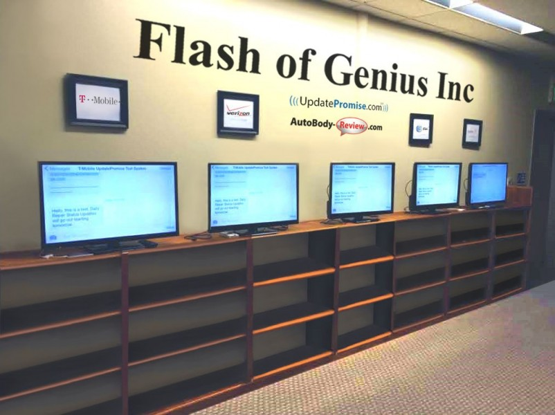 Flash of Genius Inc media center