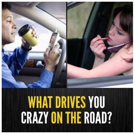 Drivers' Pet Peeves