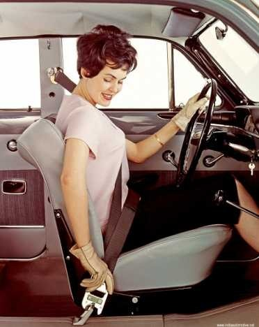 It was the 1960s that brought the requirement of seat belts