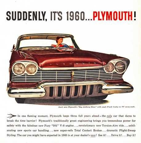 The new 1960 Plymouth