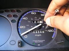 changing the odometer