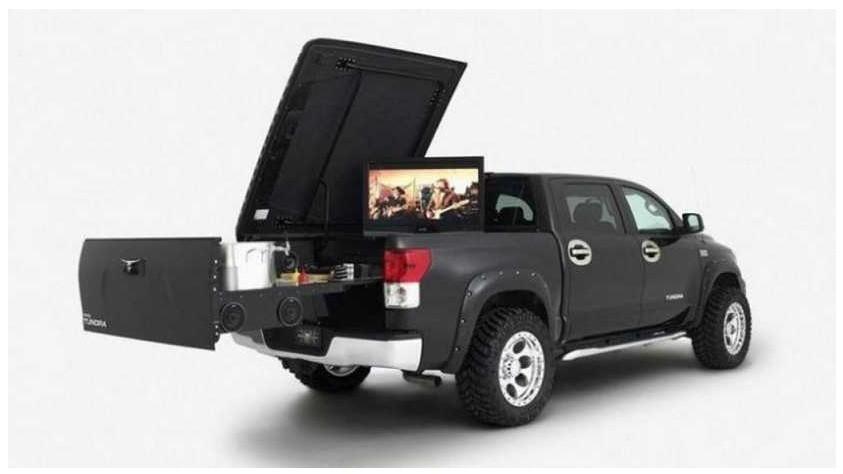 Toyota Tundra Mobile BBQ