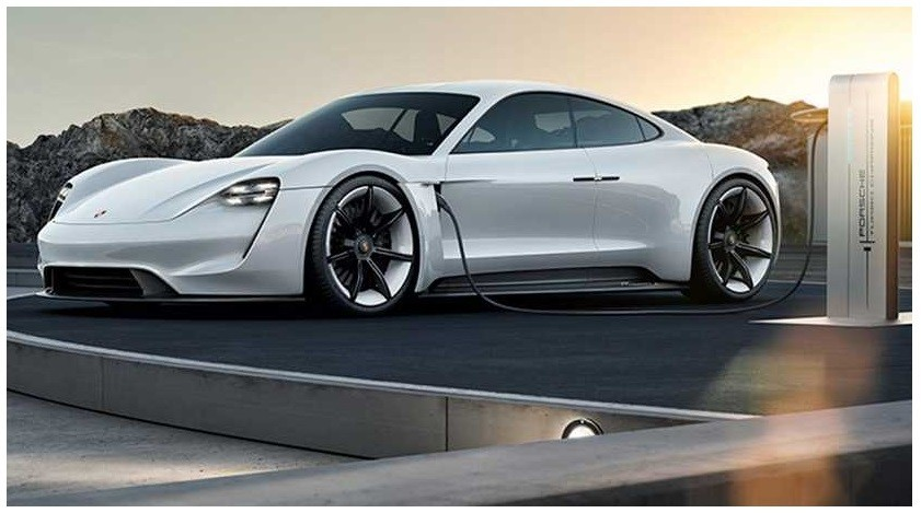 Porsche Mission E was unveiled at the 2016 Frankfurt Auto Show