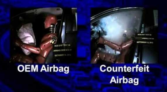OEM vs Fake Airbags