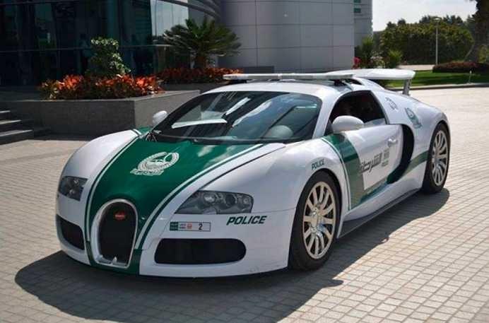 The luxury cars of Dubai's police force