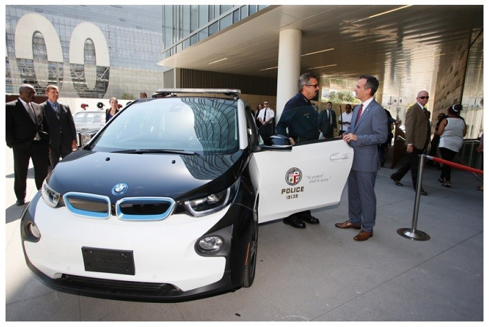 the is BMW will be part of the LAPD.