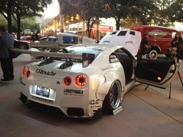 NISSAN SKYLINE AT SEMA SHOW 2014
