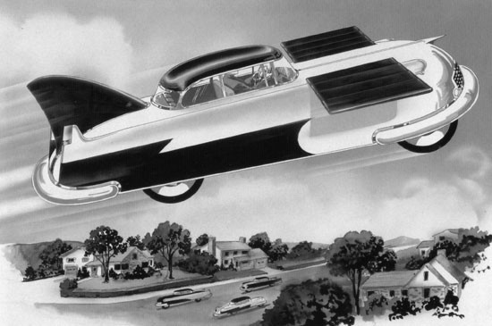 1950's flying car concept