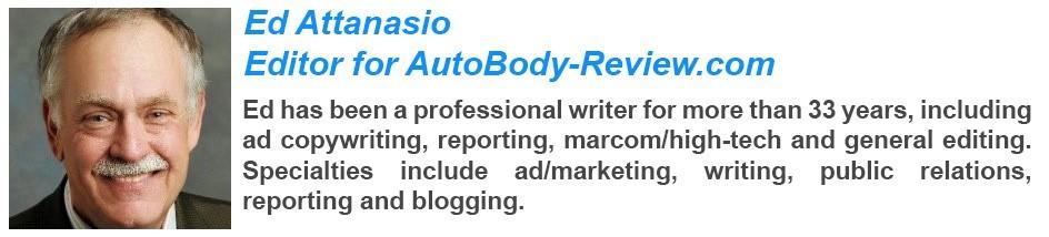 Ed Attanasio - Editor for AutoBody-Review.com