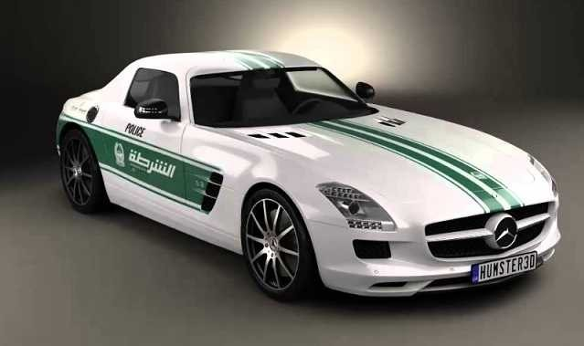 Dubai has some of the most impressive luxury police cars in the world