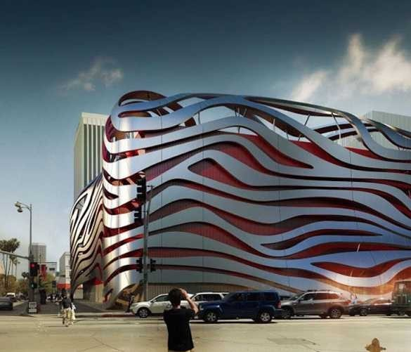 Petersen Automotive Museum, Los Angeles, California