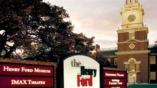 Henry Ford Museum in Deerfield Village, Michigan