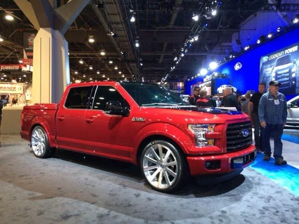 2015 Ford F150 at the 2014 SEMA trade show