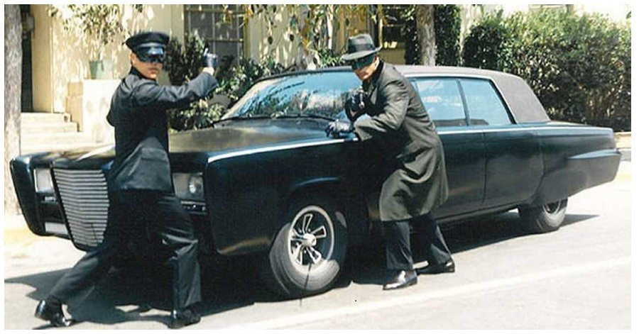 The Green Hornet's Car