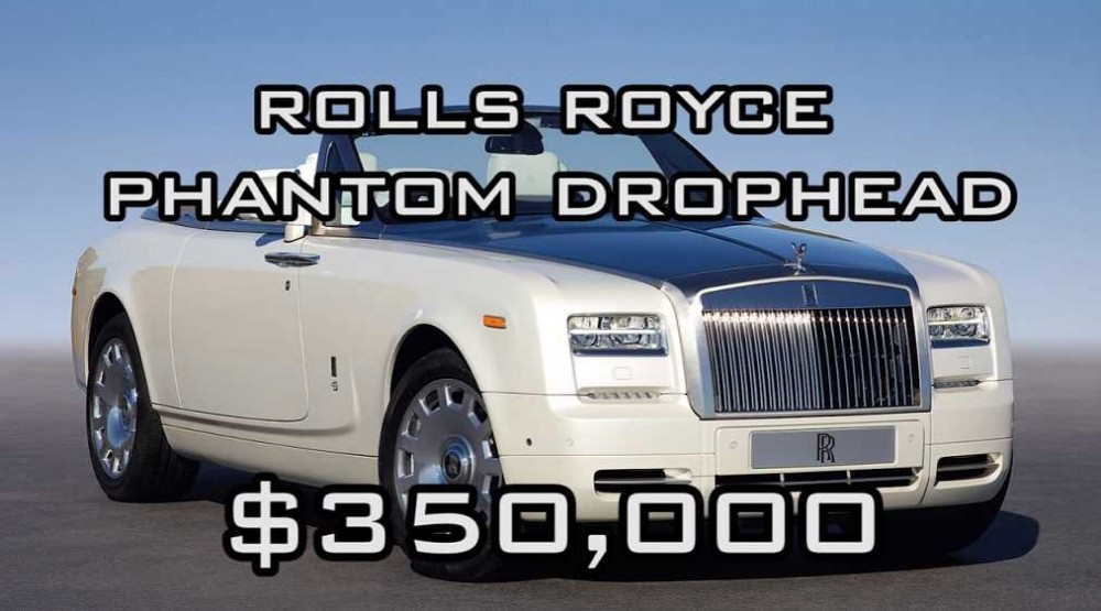 The Rolls Royce Phantom Drophead