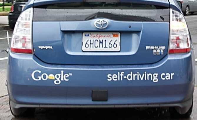 Google Car first crash