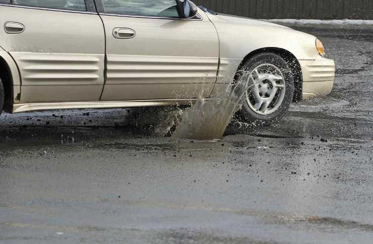 Pothole Splash
