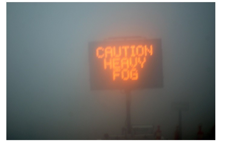 Be safe while driving through fog!