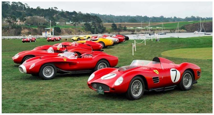 The Pebble Beach Concours d'Elegance Car Show