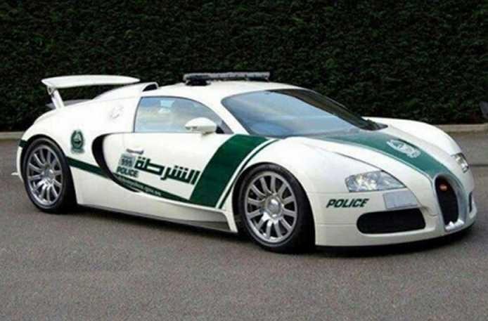 The Bugatti Veyron in Dubai
