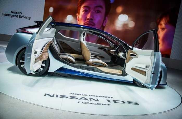 Nissan's IDS concept car