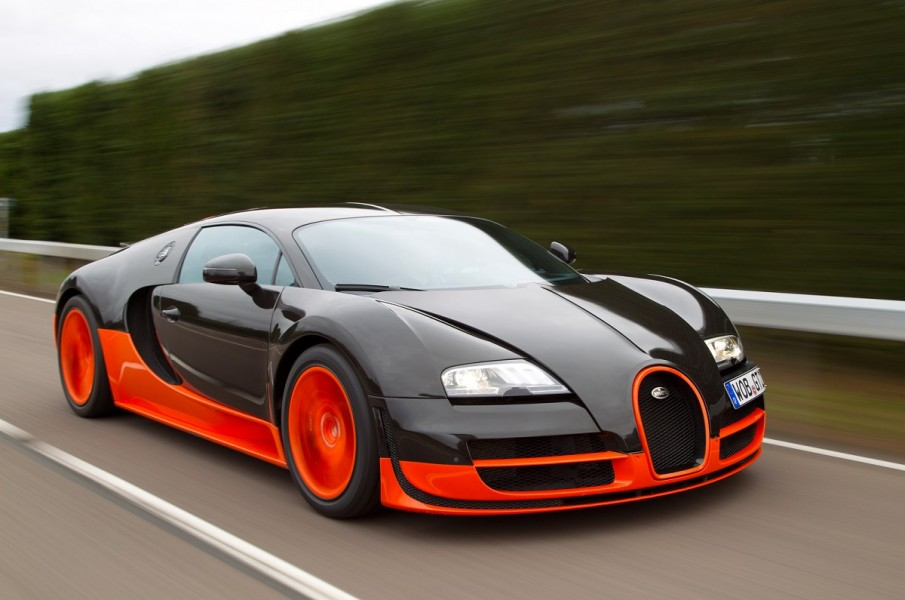 Bugatti Veyron – The Super Sport