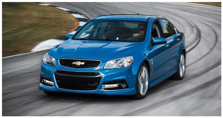 Chevrolet SS has a 6.2 liter V8 and 415 horsepower
