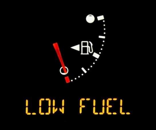 Low Fuel dangers