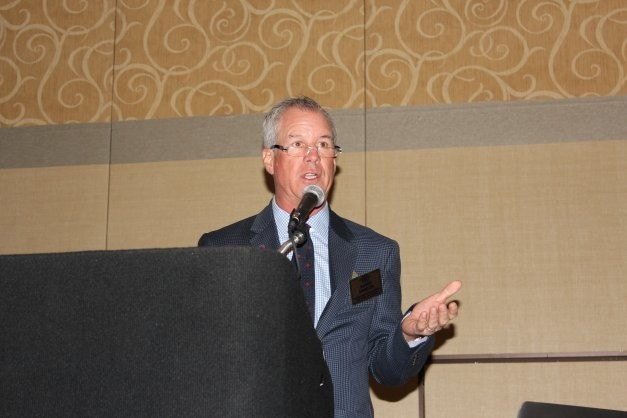 New CIC chairman Randy Stabler at SEMA 2014