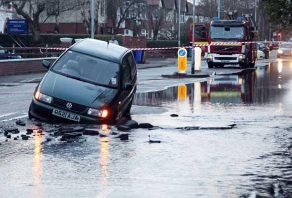 Pothole Accident