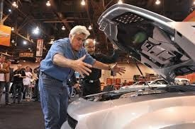 Jay Leno at the SEMA show 2008