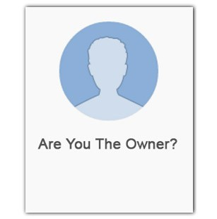 Are you the owner of your business page?