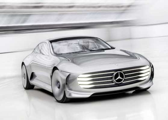The Mercedes All-Electric Sedan