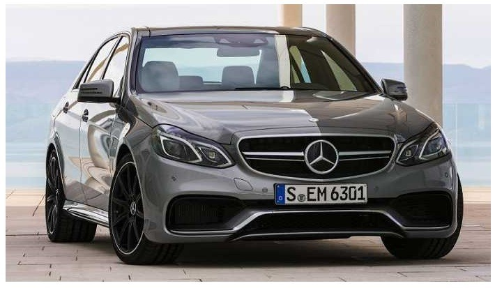 5.5 L, eight-cylinder Mercedes-Benz AMG E63 S