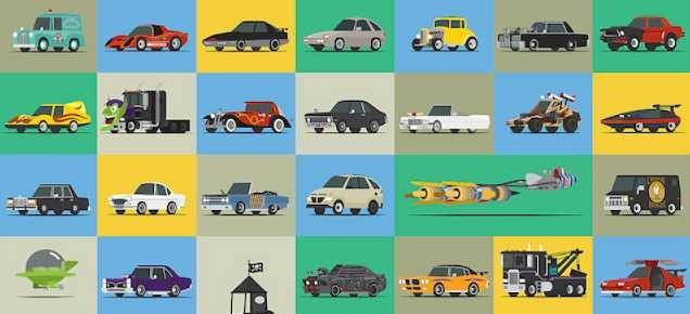 Cars from our childhood