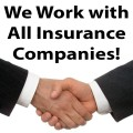 We Work With All Insurance Companies... DRP'S  &  Non-DRP'S