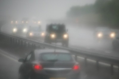 AutoBody-Review driving safely during a hurricane