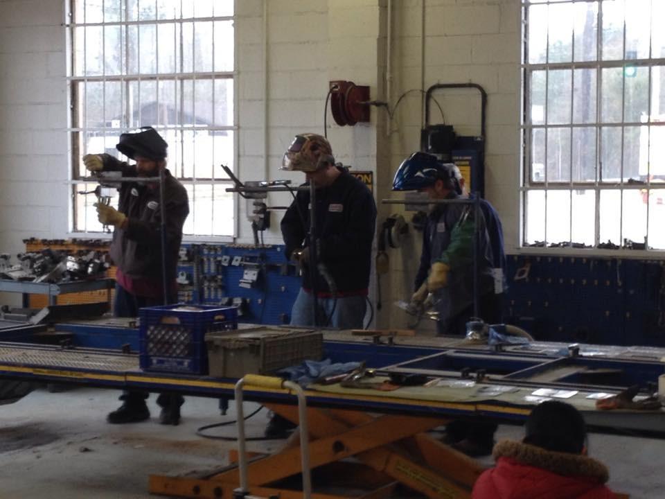 Laneys Collision Center 916 E Hillsboro St  El Dorado, AR 71730   Technicians are skilled professional welders....