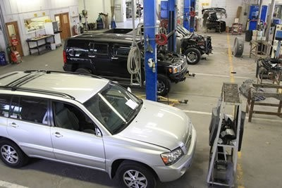 Laneys Collision Center 916 E Hillsboro St  El Dorado, AR 71730  A large & well organized collision repair facility....