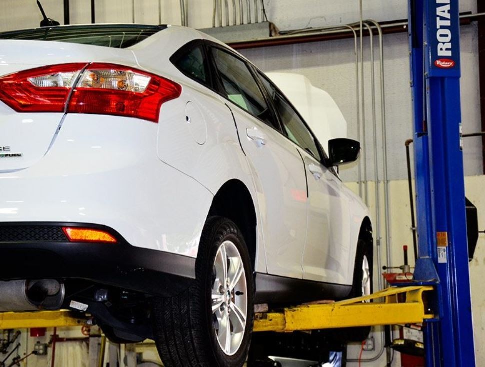 Accurate alignments are the conclusion to a safe and high quality repair done at Joe Hudson's Collision Center - Manchester, Manchester, TN, 37349
